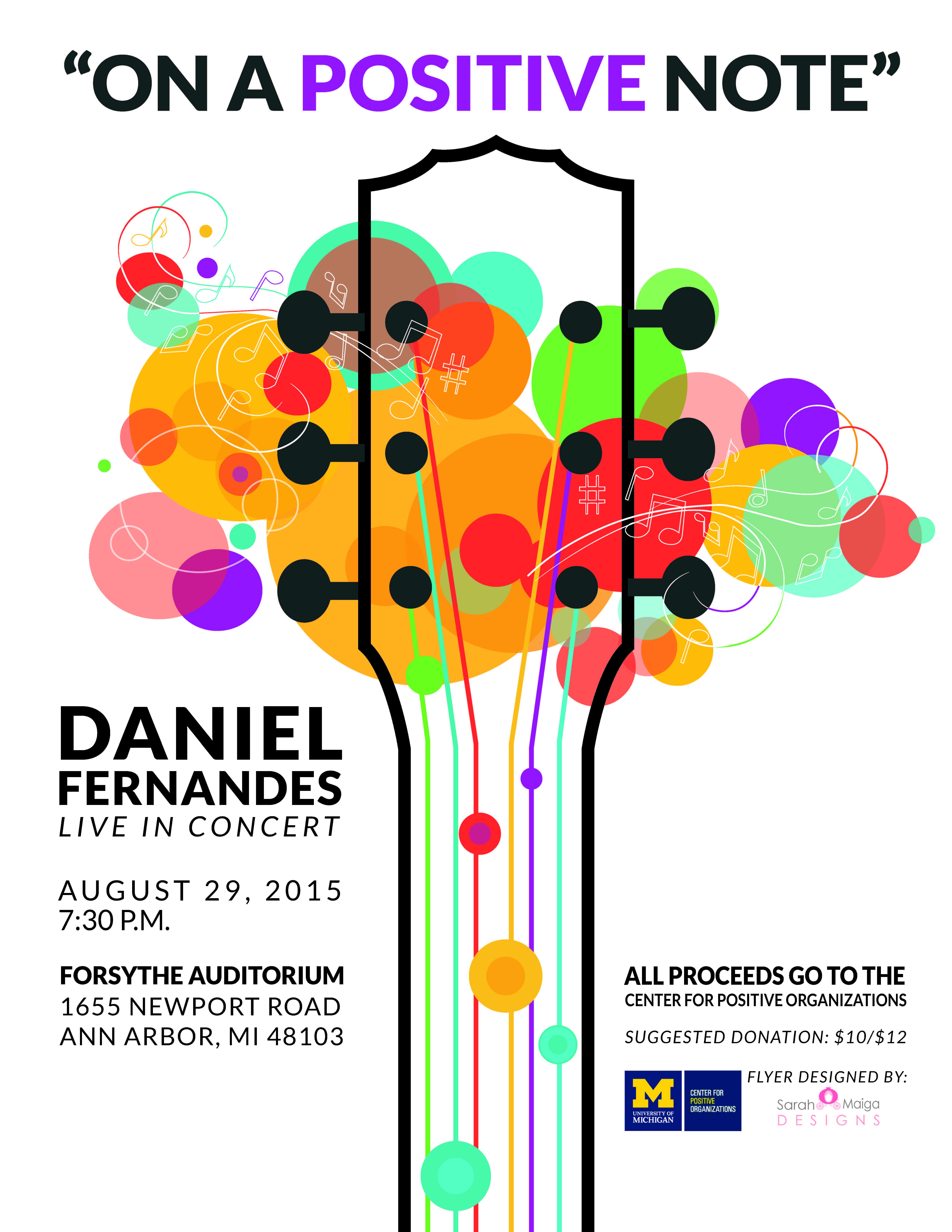 Benefit Concert 8.29.2015
