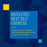Reflected Best Self Exercise, Created at U of M, Center for Positive Organizations