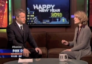 Michelle Segar on Fox News talking about resolutions.